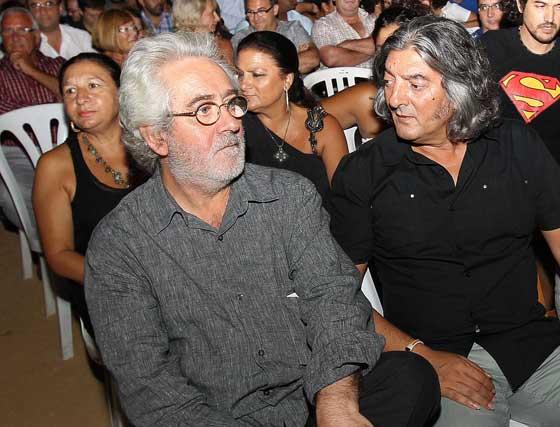 Isidro Sanlúcar y Moraíto.  Foto: Miguel Angel Gonzalez