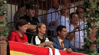 La presidencia de La Malagueta otorgaba las dos orejas.  Foto: Sergio Camacho