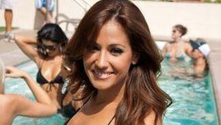Adriana Reveron en traje de baño.  Foto: EFE