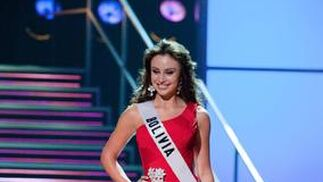 La candidata boliviana, Claudia Arce, una de las favoritas.  Foto: EFE