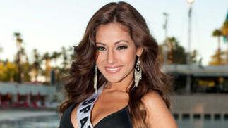 La candidata española, Adriana Reveron.  Foto: EFE