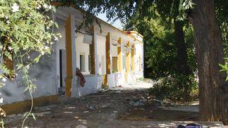 El edificio municipal está en riesgo de derrumbe.  Foto: Victoria Hidalgo