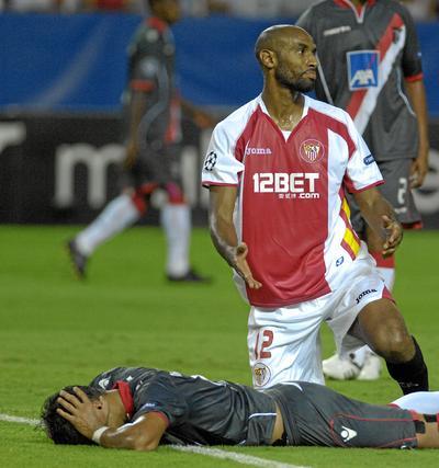 El Braga sorprende en Nervión y deja al Sevilla sin 'Champions'  Foto: Manuel Gomez