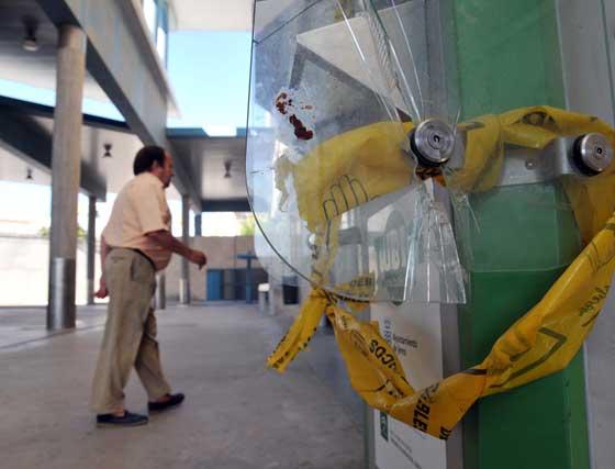 """La delegada de Seguridad, Mari Carmen Martínez, no niega que """"nos faltan vigilantes"""", si bien señala que el Ayuntamiento ha hecho una convocatoria para cubrir entre 16 y 17 puestos de vigilantes.  Foto: Manuel Aranda"""