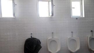 Algunos urinarios están inutilizados ó se encuentran en mal estado  Foto: Manuel Aranda
