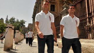 Juan Cala y Alejandro Alfaro.  Foto: Manuel Gómez