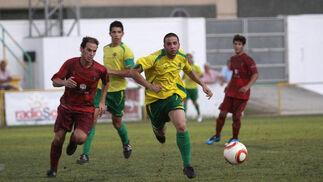 En el partido ante el Córdoba B, La Unión no tuvo oportunidades claras de gol. La próxima cita es al sábado que viene ante el Ayamonte  Foto: Vanessa Perez