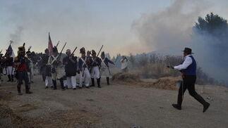 Momento de la batalla  Foto: Ramón Ubric