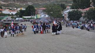 Uno de los momentos de la batalla  Foto: Ramón Ubric