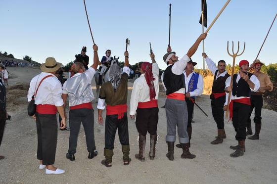 El éxito fue tal que el municipio está pensando en volver a hacer la representación  Foto: Ramón Ubric