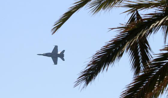 El II Festival Aéreo Internacional de Málaga, donde han participado 35 aeronaves y 90 pilotos, ha contado con la presencia de más de 250.000 personas.  Foto: Yolanda Montiel