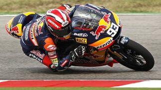 Marc Márquez, vencedor del Gran Premio de San Marino en 125 cc.  Foto: Reuters