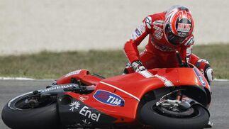 Nicky Hayden.  Foto: Reuters
