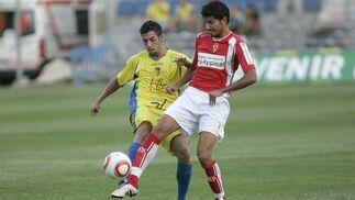 Carlos Caballero no lució como en otros partidos.   Foto: Jesus Marin