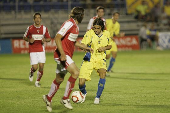 David González debutó en Liga y ofreció buenos detalles.   Foto: Jesus Marin
