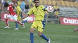Enrique jugó una vez más en punta.   Foto: Jesus Marin