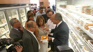La tienda gastronómica Las Vides abre sus puertas en las dependencias de la Escuela de Hostelería.   Foto: Pascual