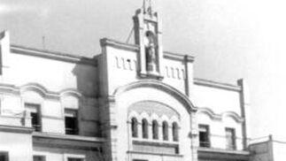 Colegio de Las Irlandesas de Madrid, donde cursó sus estudios.