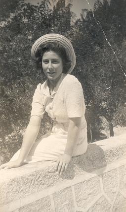 Madre María de la Purísima con 17 años.