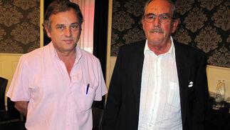 Los ganaderos José Murube y Eduardo Miura.  Foto: Victoria Ramírez