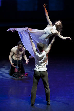 Obra 'El Trovador' de la compañía de danza Lamov.