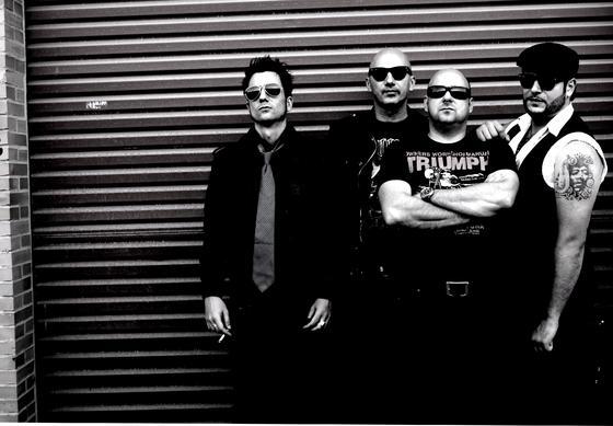 La banda malagueña de rock Fabrizzios.