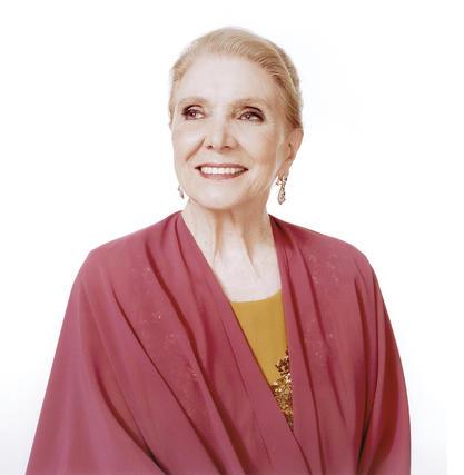 La cantante y actriz madrileña María Dolores Pradera.