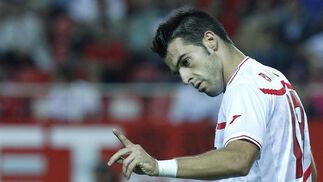 El Sevilla deja escapar otros dos puntos del Sánchez Pizjuán. / Antonio Pizarro