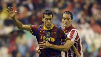 El Barcelona gana 3-0 en San Mamés.  Foto: EFE/Reuters
