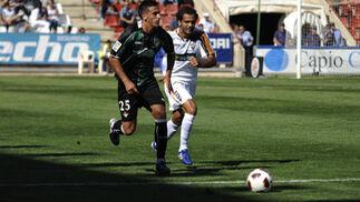 El Real Betis pierde 2-1 ante el Albacete Balompié en el Carlos Belmonte.  Foto: LOF