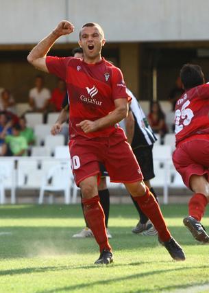 El conjunto de Alcaráz se impuso 1-2 ante el Cartagena.  Foto: LOF