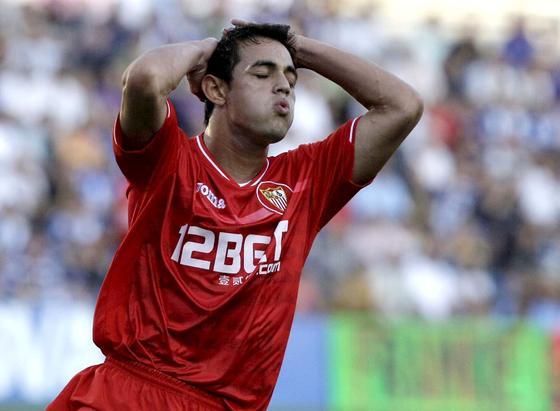 El Sevilla prolonga su mala racha al caer en Alicante ante el Hércules. / EFE