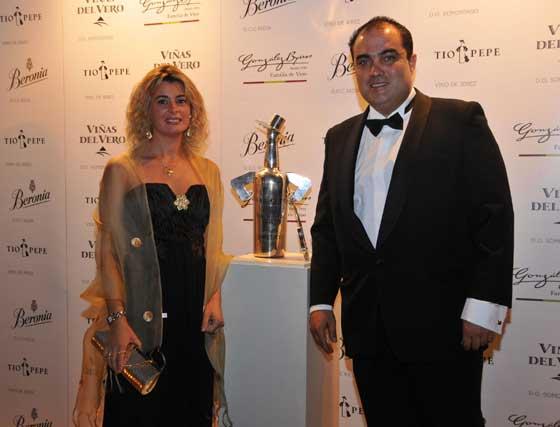 David Fernández y su esposa Inmaculada Malvido.  Foto: Pascual