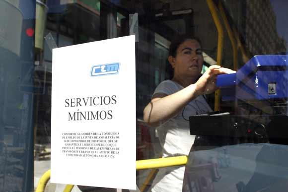 La protesta sindical no paralizó la Comarca, aunque sí tuvo incidencia en la gran industria y el puerto  Foto: Vanessa Perez