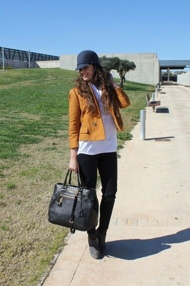 Mustard Jacket - Outfit