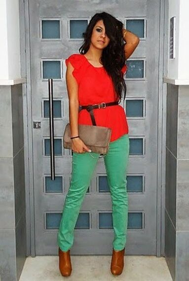 Color Block - Outfit