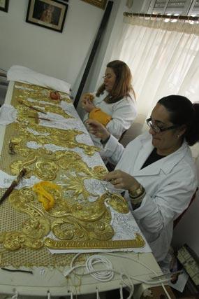 El futuro paso de palio de la Virgen de la Consolación.  Foto: A.s.Carrasco