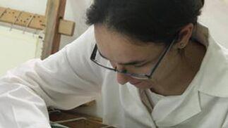 El proceso del bordado.  Foto: A.s.Carrasco