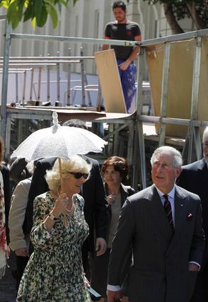 Carlos de Inglaterra y Camilla.  Foto: José Ángel García
