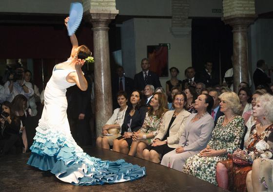 Espectáculo en el Museo del baile Flamenco de Sevilla de Cristina Hoyos.  Foto: Manuel Gómez