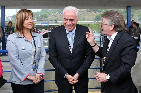 Foto: Manuel Pascual, Juan Carlos Toro y Manuel Aranda