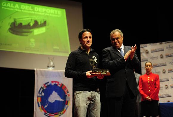 Pachi Arce, mejor técnico.  Foto: Elias Pimentel