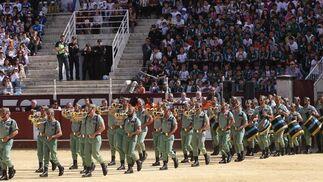 La exhibición ha contado con la colaboración de la Legión  Foto: Javier Albiñana
