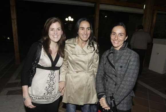Estefanía Selva, Rocío García y Amalia Puigdengolas./Fotos:Erasmo Fenoy  Foto: Erasmo Fenoy