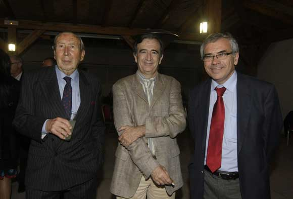 Solomon Seruya, Vicente Granados, presidente del observatorio Territorial de Andalucía y Juan María de la Cuesta (Comport)./Fotos:Erasmo Fenoy  Foto: Erasmo Fenoy