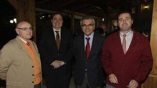 Sebastián Díaz Díaz. MIguel Ángel Calderón (AGI), Juan María de la Cuesta (Comport) y Sebastián Díaz Ribes./Fotos:Erasmo Fenoy  Foto: Erasmo Fenoy