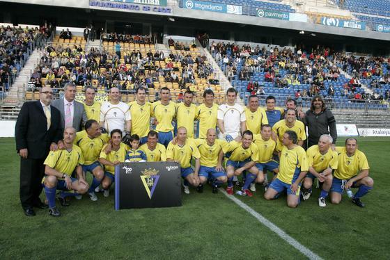 El once de la cantera, liderado por Mejías, Linares, Baena o Jose González.   Foto: Jesus Marin