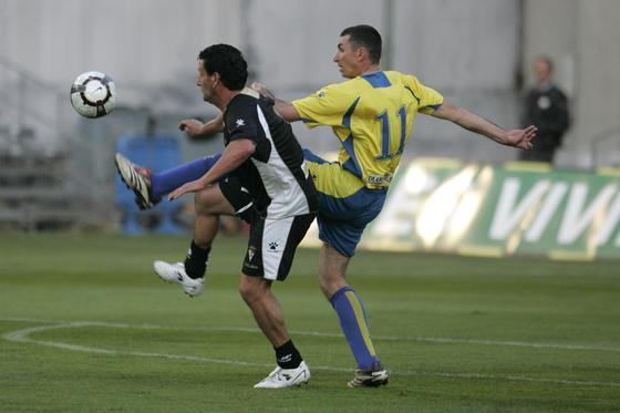 Paquito Aragón y Arteaga, en plena acción.   Foto: Jesus Marin