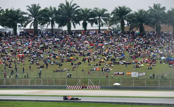 Vettel reafirma su dominio tras vencer también en el segundo Gran Premio de la temporada. / AFP