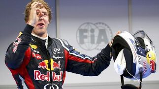 Vettel reafirma su dominio tras vencer también en el segundo Gran Premio de la temporada. / EFE